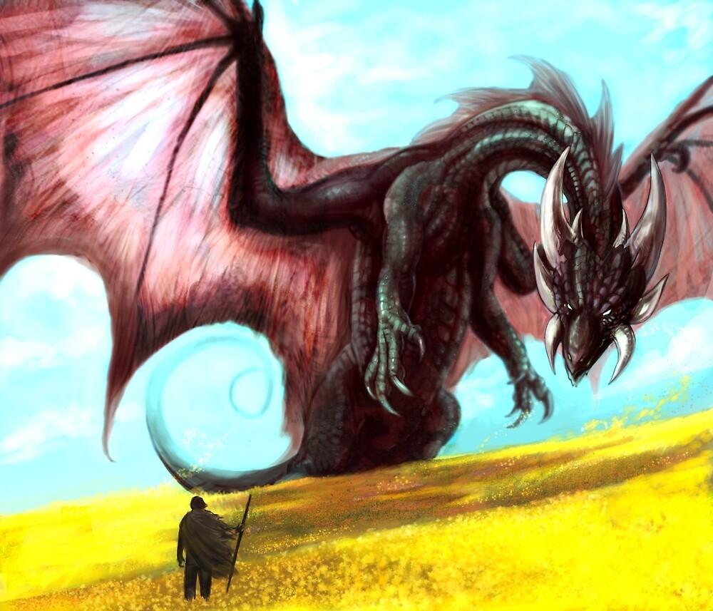 Black Dragon by saeto15