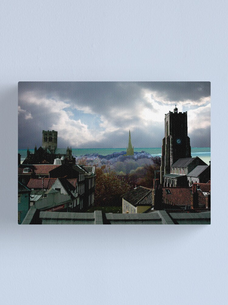 Alternate view of Norwich MMC Canvas Print
