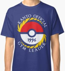Pokemon Go Kanto Official Gym Leader Classic T-Shirt
