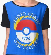 Pokemon Go Kanto Official Gym Leader Chiffon Top