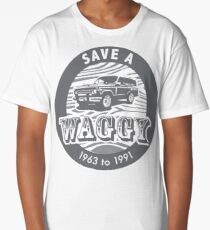 Save A Waggy Gray Long T-Shirt
