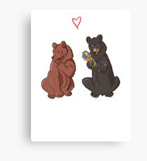 Be my Honey Bear Canvas Print