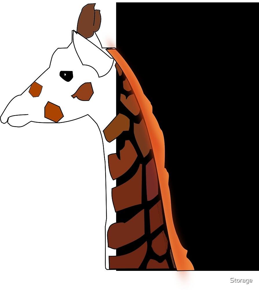 Modern Giraffe by Storage