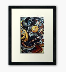 Indigo Blues Framed Print