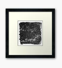 The Atlas of Dreams - Plate 20 (b&w) Framed Print