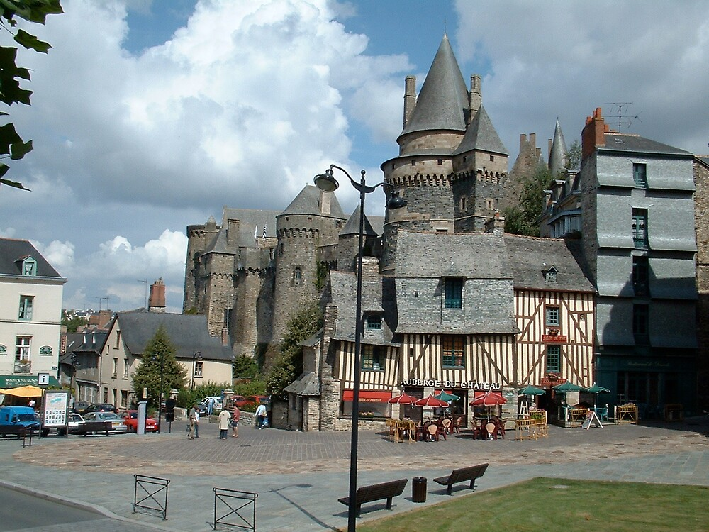 Fougeres Chateau by Jervaulx