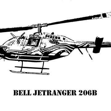 Bell JetRanger B206 - Black by PrecisionHeli