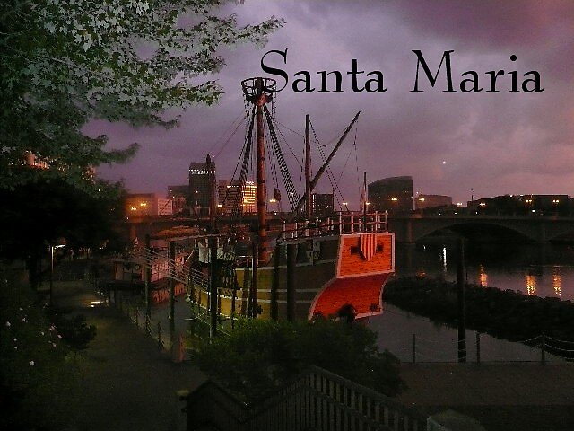 Santa Maria by Mary Ann Battle