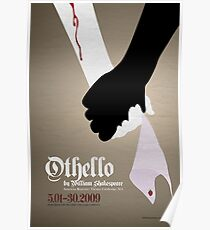 Othello by William Shakespeare Poster
