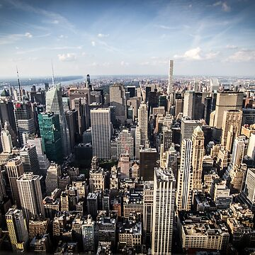 New York Skyview by infinitephotos