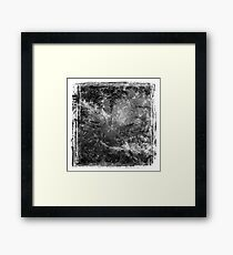 The Atlas of Dreams - Plate 19 (b&w) Framed Print