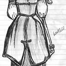 fashion sketch by jeshiilee
