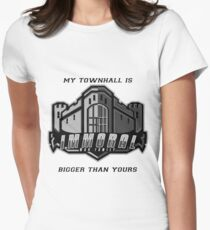 My TH is bigger than yours Womens Fitted T-Shirt