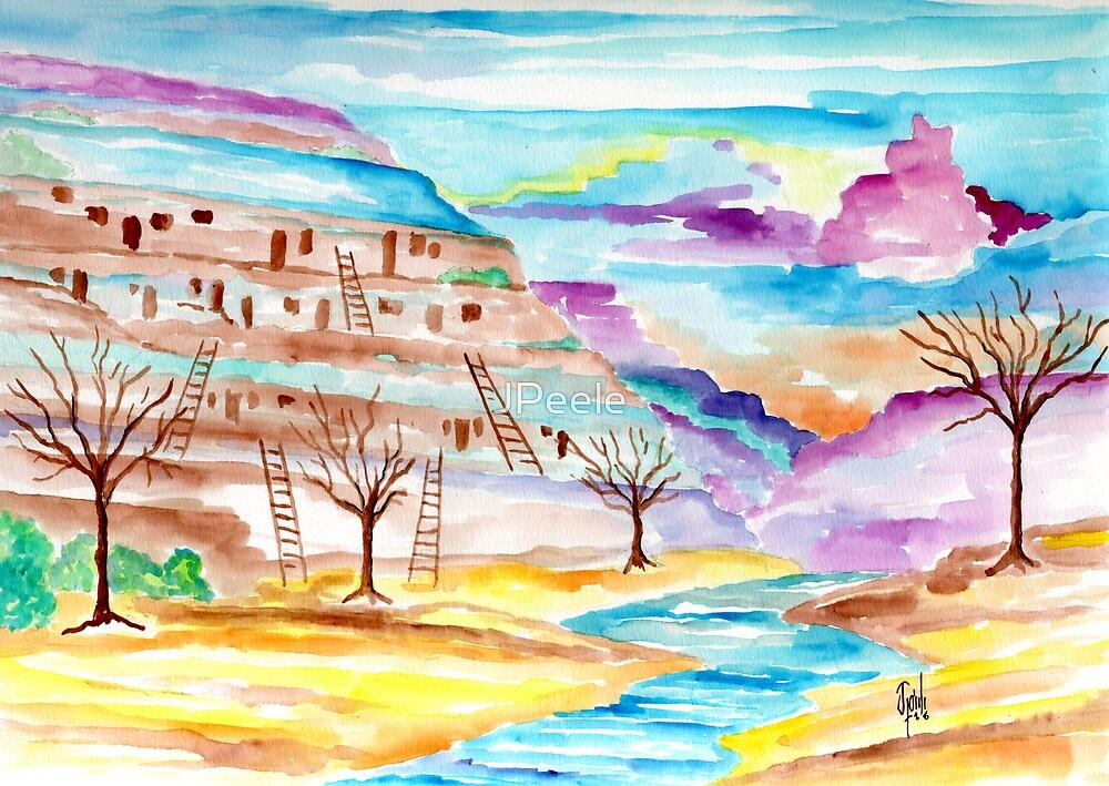 Cliff Dwellers Castle by James Peele