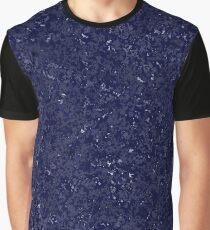 Pattern - Denim Stone Night Sky Graphic T-Shirt