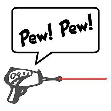 Pew! Pew!  Laser Gun by lcorri