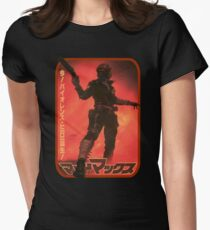 Mad Max (Japanese Art) Womens Fitted T-Shirt