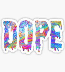 dope bruh Sticker