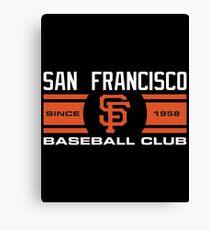 San Francisco Giants Baseball Club Canvas Print