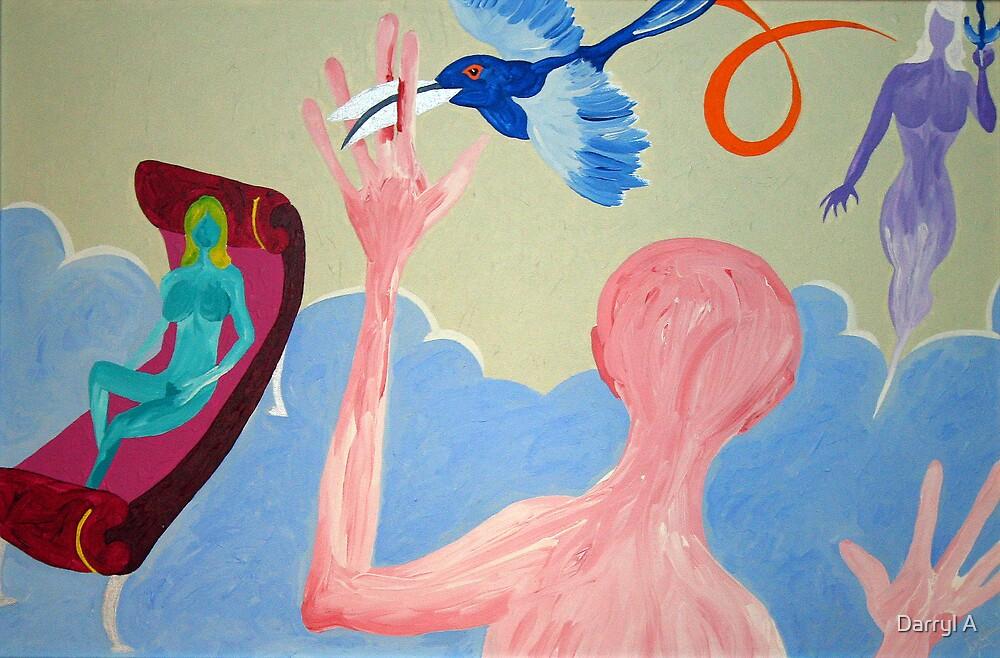 Beaks as scissors  by Darryl A