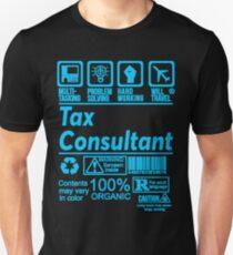 TAX CONSULTANT SOLVE PROBLEMS DESIGN Unisex T-Shirt