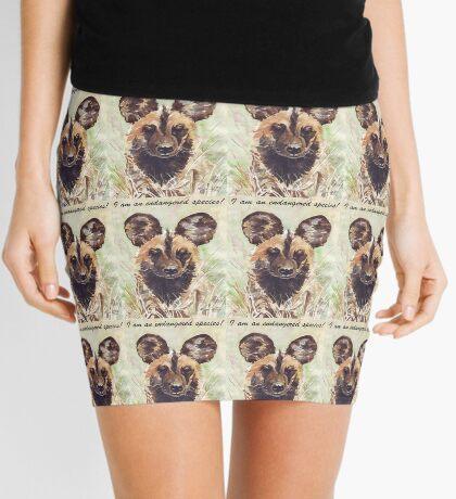 I am an endangered species! Mini Skirt