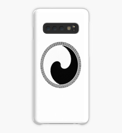 I Ching 004 - Work in Progress - White Background Case/Skin for Samsung Galaxy