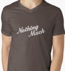 Nothing Much Men's V-Neck T-Shirt
