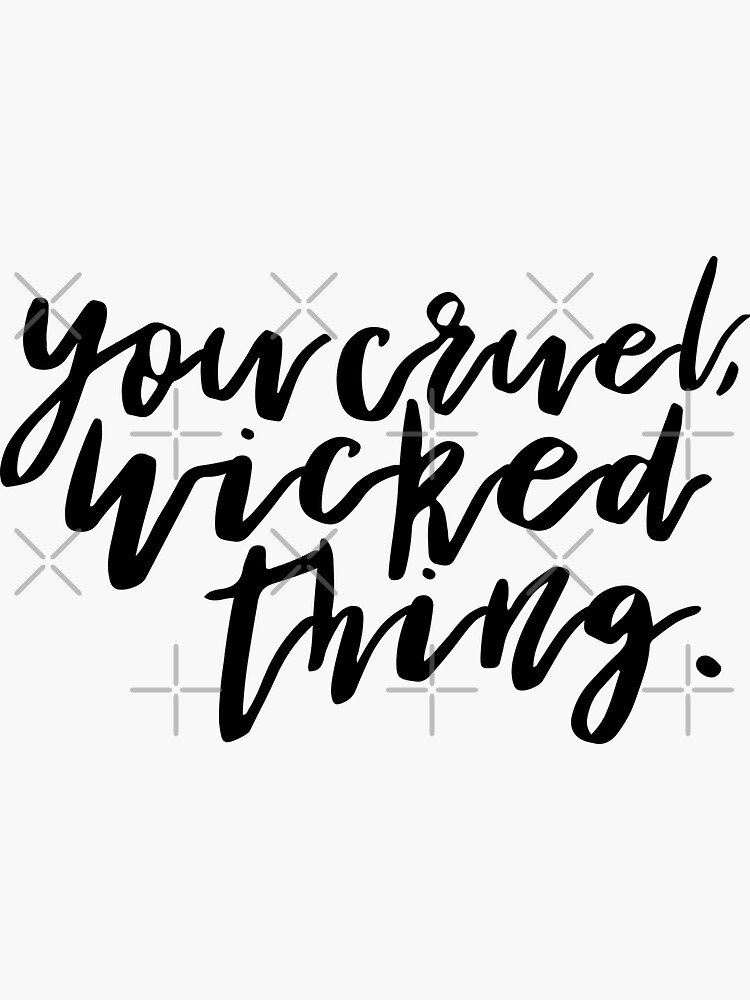 You cruel, wicked thing. - ACOMAF by yairalynn