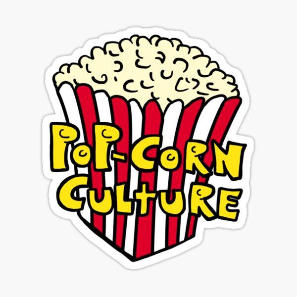 Pop-Corn Culture Sticker