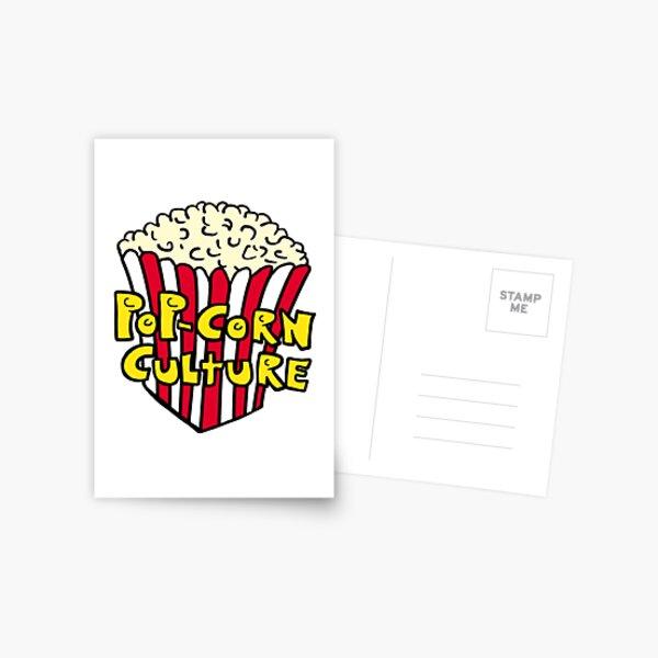 Pop-Corn Culture Postcard