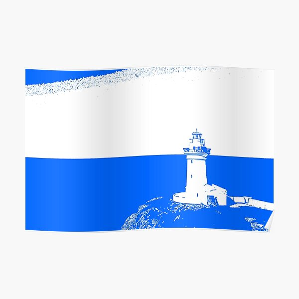 Lighthouse - South Solitary Island Poster