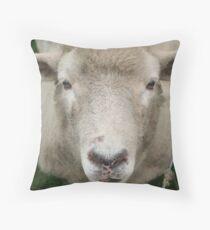 What ewe looking at? Throw Pillow
