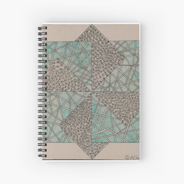 Zentangle Block 2 Spiral Notebook