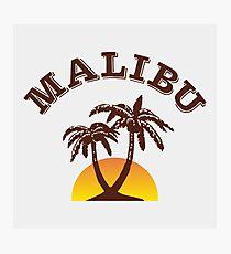 Malibu Rum Photographic Print