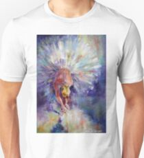 Ballerina Adjusting The Ribbons - Art Unisex T-Shirt