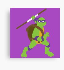 Donatello Blocky Canvas Print