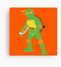 Michelangelo Blocky Canvas Print
