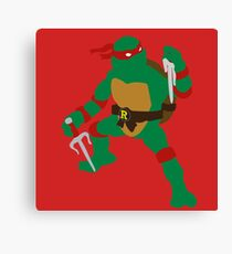 Raphael Blocky Canvas Print