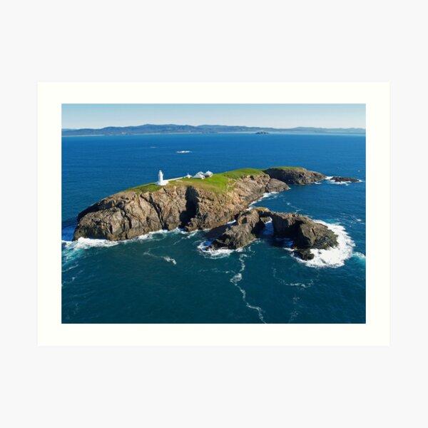 South Solitary Island Lighthouse Art Print
