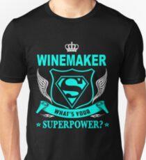 WINEMAKER - SUPER POWER DESIGN Unisex T-Shirt