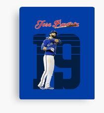 Jose Bautista - Toronto Blue Jays Canvas Print