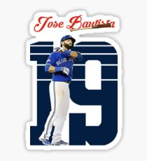 Jose Bautista - Toronto Blue Jays Sticker
