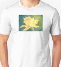 Retro Comic Daffodil Unisex T-Shirt