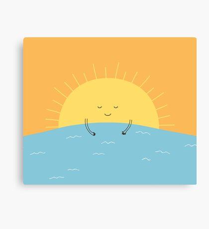 good morning sunshine! Canvas Print