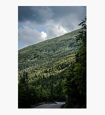 Mt. Washington Auto Road Photographic Print