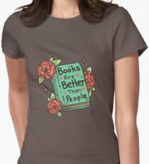 Books > People Women's Fitted T-Shirt