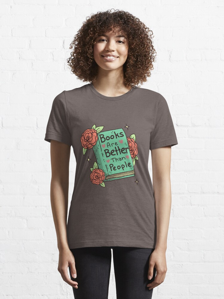 Alternate view of Books > People Essential T-Shirt