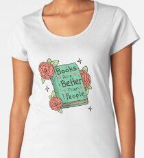 Books > People Women's Premium T-Shirt