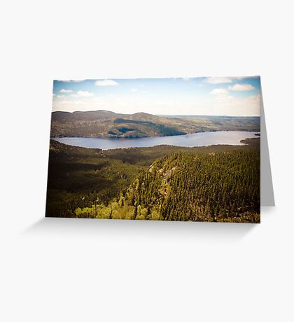 Veiw from Louil Hill Greeting Card